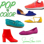 Colorful Shoes that Add a Pop