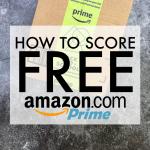 How to Score Free Amazon Prime